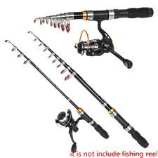 Telescopic Fishing Rod Pole Mini Portable Carbon Spinning Rods Ice Sea Casting