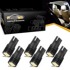6PCS Super White T10 Canbus Error Free LED Interior Light Bulbs Car Dome Bulbs
