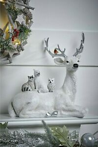 Stag and Friends Christmas Decoration Shelf Sitter