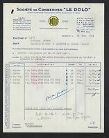 """BRESSUIRE (79) USINE de CONSERVES de VIANDES """"LE DOLO"""" en 1953"""