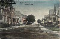 Atlantic MA Homes on Webster St. c1910 Postcard #2