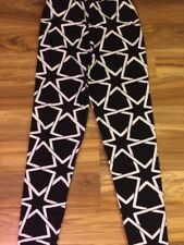 Women's Leggings One Size Fits Sizes 3 - 14 Small, Medium & Large Stars