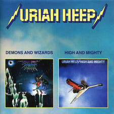 Uriah Heep –  Demons And Wizards / High And Mighty (2 albums in 1CD)