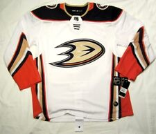 ANAHEIM DUCKS - size 52 = Large - ADIDAS NHL HOCKEY JERSEY Climalite away white