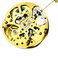 3 Hands Metal Radiation Pendulum Pattern Mechanical Automatic Watch Movement