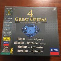 ESOTERIC SACD / CD Hybrid 4 GREAT OPERAS 9CD BOX Box set from JAPAN F/S NEW