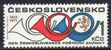 2049 - CZECHOSLOVAKIA 1971 - Stamp Day - MNH Set