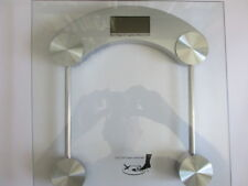 Weight Chrome and Glass Lithium Digital Bath Scale