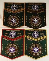 2019 24th World Scout Jamboree: World Scouting Set - (4) 2 Parters