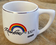 Vintage Digital Electronics Corp DEC Computer Rainbow logo Coffee Mug Cup