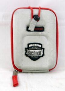 Bushnell Golf Tour V4 V3 V2 X2 Rangefinder Carrying Case Grey / Red