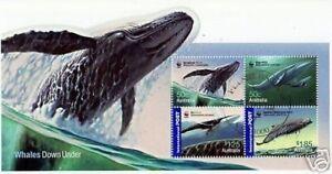 Australie 2006 Baleines Down Sous Très Bien Utilisé Mini Feuille