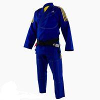 adidas Contest Jiu Jitsu Gi Bjj Gi 450gr Pearl Weave Ultra Light Blue
