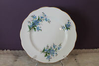 "ROYAL ALBERT BONE CHINA ENGLAND 8-1/4"" SALAD PLATE(S) - FORGET-ME-NOT"