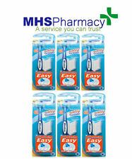 6x Wisdom Clean Between easy flosser Handle & 25 Floss Heads