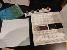 Schach schachbrett Glas Backgammon Spiele Sammlung 7 In 1 Glass Games neu ovp