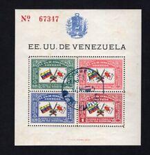 Venezuela 1944 block Mi#1 used CV=42€