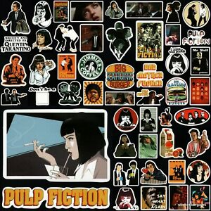Pulp Fiction Stickers 50+ Designs! Laptop Car Phone Wall Waterproof Vinyl Decal