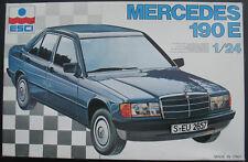 ESCI 3046 - Mercedes-Benz 190 E - 1:24 - Auto Modellbausatz - Car Model Kit 190E