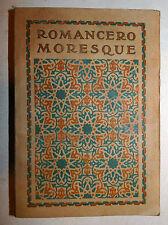 ROMANCERO MORESQUE 1921 trad. Arnaux pochoir 1 tavola Leon Carre pouchoir Arabia