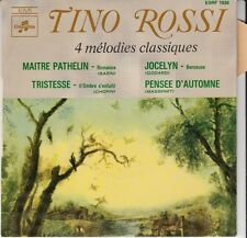 45 T EP  TINO ROSSI *4 MELODIES CLASSIQUES*