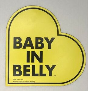 Pregnant Driver Baby in Belly Magnet For Car