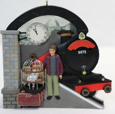 Hallmark Harry Potter Chamber of Secrets Platform 9 3/4 Keepsake Ornament 2003
