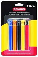 Ronson RDL Set of 5 Disposable Lighters, Electronic Ignition #41805