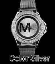Watches Women Quartz Watch Luxury Crystal Women Steel Watches Dress Wristwatch F
