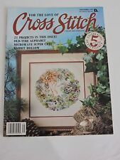 For the Love of Cross Stitch magazine September 92 Alphabet Rabbit Cooking Bear