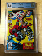 X-Force #15 (Oct 1992, Marvel) CGC 9.8 Deadpool Cable & Cruel app. Movie