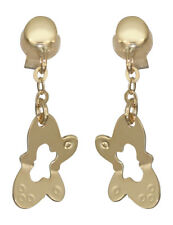 Schmetterling Ohrstecker Gold 585 - Ohrhänger - Ohrringe 14 kt Goldohrstecker