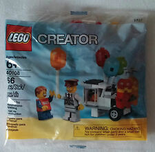 Lego 40108 Balloon Cart Promo Nip Rarely New and Sealed