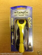 Wilkinson Sword Protector 3D Diamond 1 x Razor & 2 x blades *BNS* *FREE UK P+P*