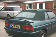 Ford Escort Mk6 Cabriolet Rear Boot Spoiler/Wing - Unpainted - 1995-2000 - New