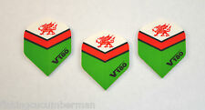 COUNTRY V180 EXTRA STRONG STANDARD DART FLIGHTS WALES