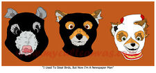 Original Fantastic Mr. Fox Art Print Poster Life Aquatic Royal Tenenbaums bluray