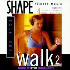 Shape Fitness Music: Walk, Vol. 2: 70s Hits by Various Artists (CD, Jan-1997, Th