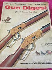 Gun Digest 1967 21st Anniversary De Luxe Edition John T Amber