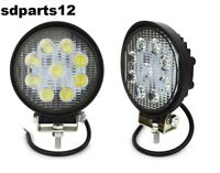 Faro Supplementare Flood Auto Fuoristrada 12/24v Tondo 9 Led 27w 6000k Ip67