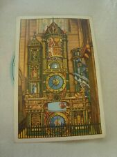 Vintage Strasbourg Cathedral Astronomical Clock Mechanical Postcard