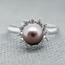 Alloy Beauty Cluster Fashion Rings
