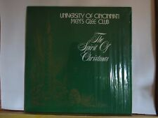 UNIVERSITY OF CINCINNATI MENS GLEE CLUB DR JOHN LEMAN DIRECTOR N/M IN SHRINKWRAP