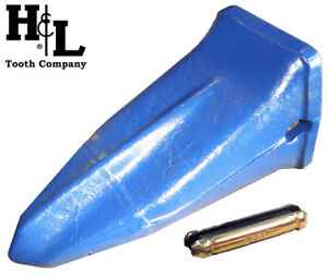 20ST H&L Tooth Company Forged in USA Star Ripper / Bucket Tooth + FREE Flexpin®!