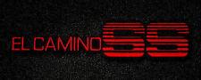 LLOYD Classic Loop™ Black FLOOR MATS Red embroidery logo 1984-1987 El Camino SS