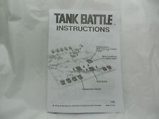 TANK BATTLE GAME RULES(1975 MB game)