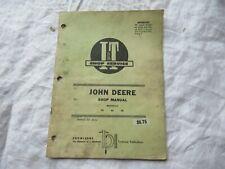 John Deere 50 60 70 tractor service repair shop manual