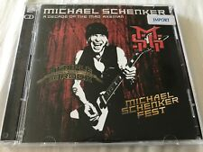 Michael Schenker - A Decade of the Mad Axeman 2CD 2018 Import UFO Studio + Live