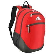 adidas Striker II Team Backpack Power Red Athletic Back to School Gym Bag