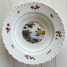 Vintage Wedgwood SUMMER TIME Rimmed Soup Bowl Colored Transferware 6951417